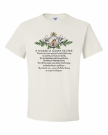 A Nurse is God's Helper Shirts