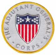 Adjutant General & Corp Patch