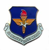 Air Education & Training Command Pin