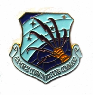 Air Force Communications Command Pin