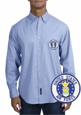 Air Force Long Sleeve Oxford