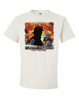 American Fire Fighters To Serve and Save Shirts