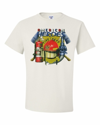 American Heroes Fire Department Shirts
