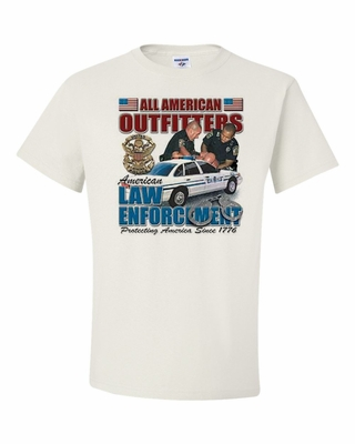 American Law Enforcement-Protecting America since 1776 Shirts