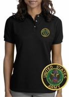 Army Patch Polo