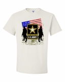 ARMY-Single Star Shirts
