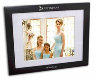 Attendant Black Wood Picture Frame