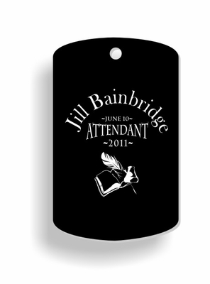 Attendant Dog Tags