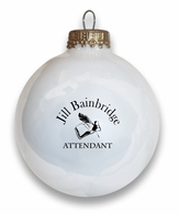 Attendant Holiday Ball Ornament