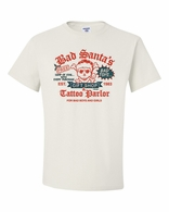 Bad Santa's Tatoo Parlor Shirts