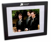Best Man Black Wood Picture Frame