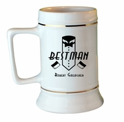Best Man Collectors Stein