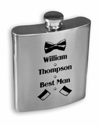 Best Man Stainless Steel Flask