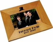 Best Man Wood Picture Frame