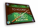 Billiard Room Welcome Mat