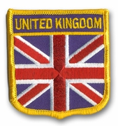 Britain Crest Flag Patch