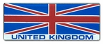 Britain Flag Bar Sticker