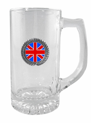 British Glass Stein