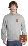 British Patch 1/4 Zip Pullover
