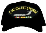 C-141 Star Lifter Vietnam Ball Cap