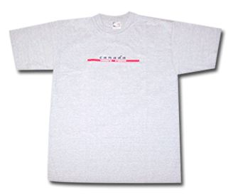 Canada Embroidered T-shirt