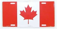 Canada Front License Plate