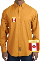 Canada Long Sleeve Oxford