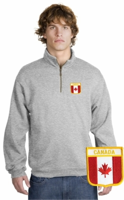 Canada Patch 1/4 Zip Pullover