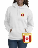 Canada Patch Crest Hooded Sweatshirt