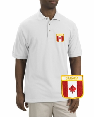 Canada Patch Polo
