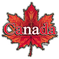 Canadian leaf shirt