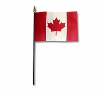 Canadian Mini Stick Flag