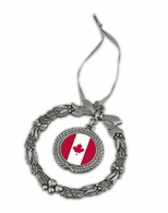 Candian Pewter Holiday Ornament