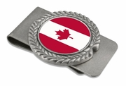 Candian Pewter Money Clip