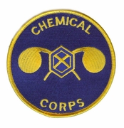 Chemical Corps Patch