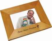 Cross Wood Picture Frame