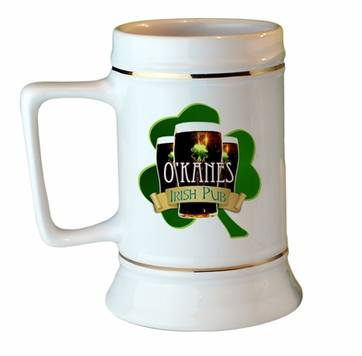 Custom Irish Pub Stein