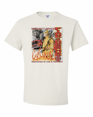 Emergency Services-Fire and Rescue Shirts