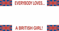 Everybody Loves - Britain License Plate Frame