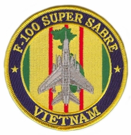 F-100 Super Sabre Vietnam Patch