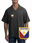 Filipino  Camp Shirt