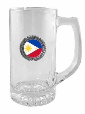Filipino  Glass Stein