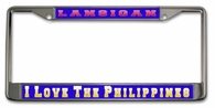 Filipino  License Plate Frame