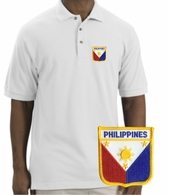 Filipino  Patch Polo