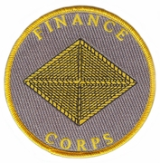Finance Corps Patch