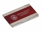 Fire Department Business Card Holder