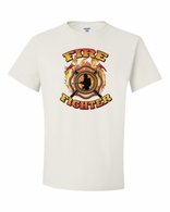 Fire Fighter with Axes Shirts