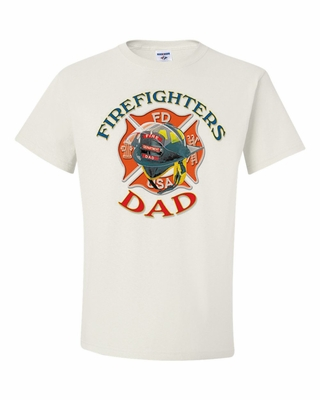 Firefighters Dad Shirts