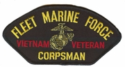 Fleet Marine Force Vietnam Veteran Hat Patch