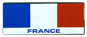 France Flag Bar Sticker